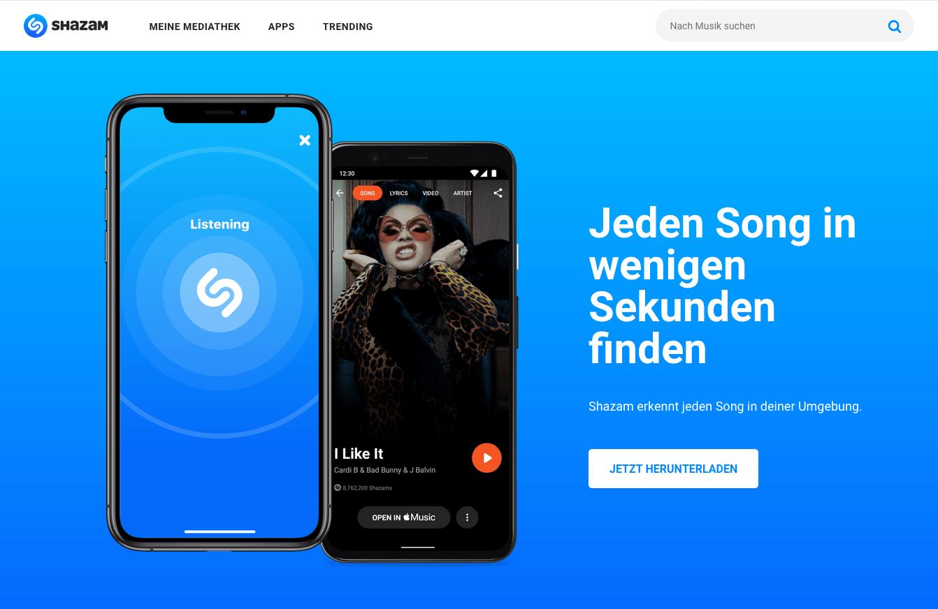 Shazam Digitale Transformation