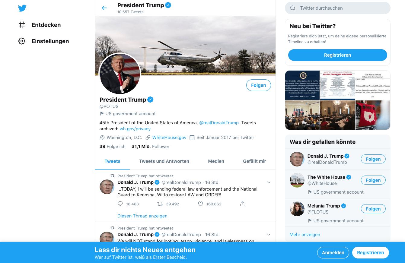 Twitter Digitale Transformation
