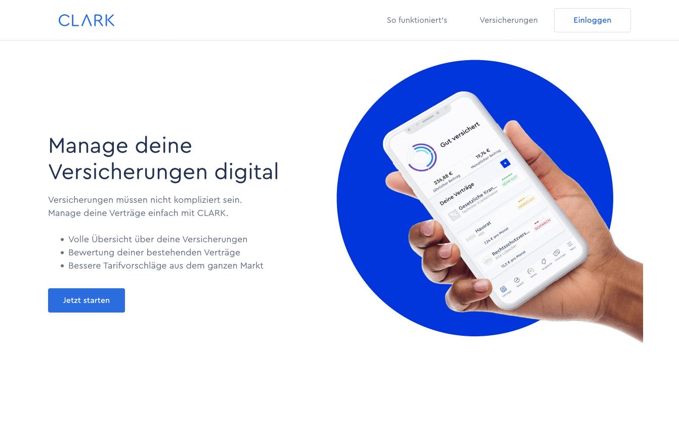 Clark Digitale Transformation