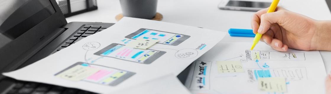 Webdesign Application Design